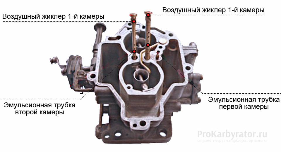 Схема карбюратора солекс 21053 фото 391