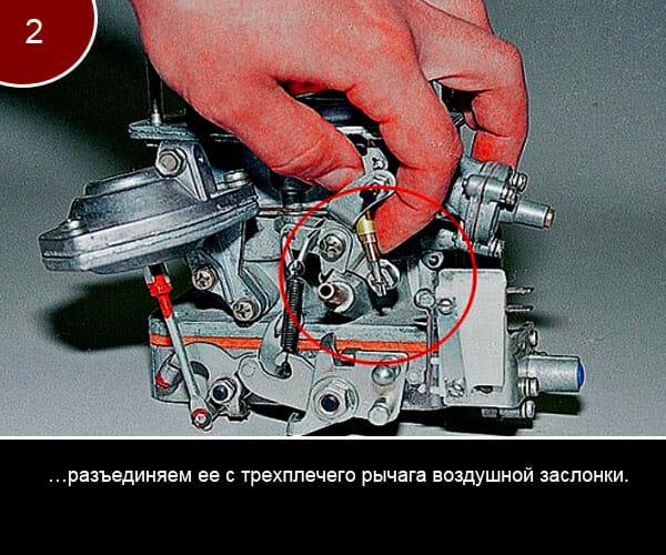 Фото инструкция по ремонту карбюратора на ваз 2107 - 2