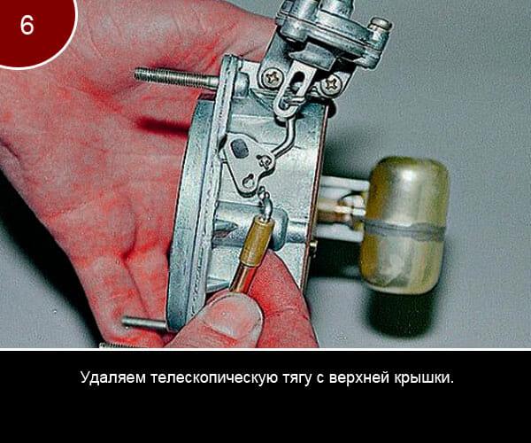 Фото инструкция по ремонту карбюратора на ваз 2107 - 6