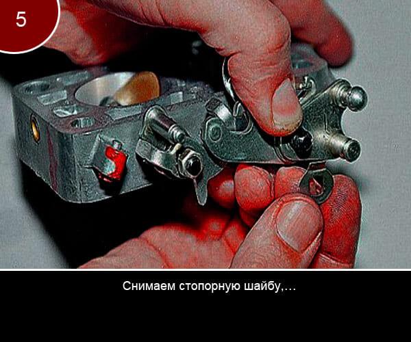 Ремонт корпуса дроссельных заслонок - 5