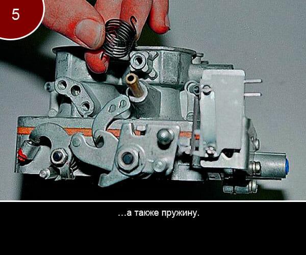Ремонт корпуса ипроцесс разборки карбюратора на ваз - 5