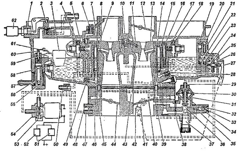 Схема карбюратора К 151