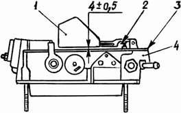 Схема поплавковой камеры с параметрами установки
