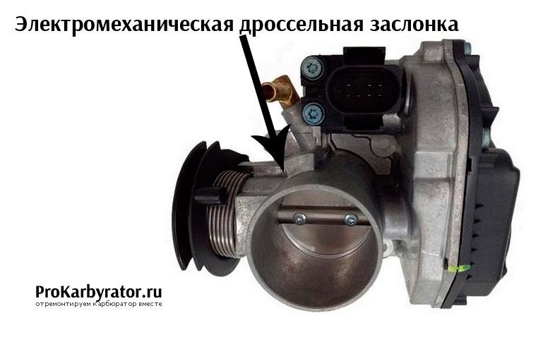 Электромеханическая дроссельная заслонка
