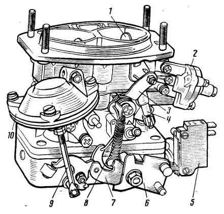 Карбюратор моделей 2105-1107010 и 2107-1107010