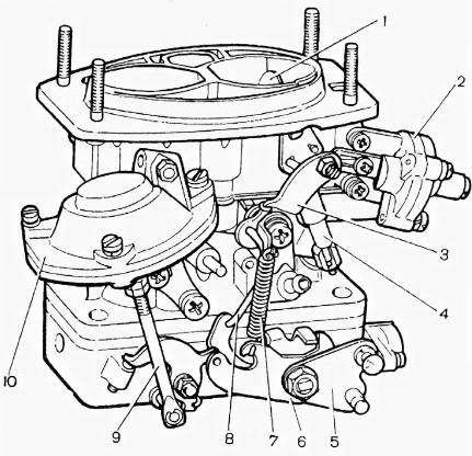 схема карбюратора пекар