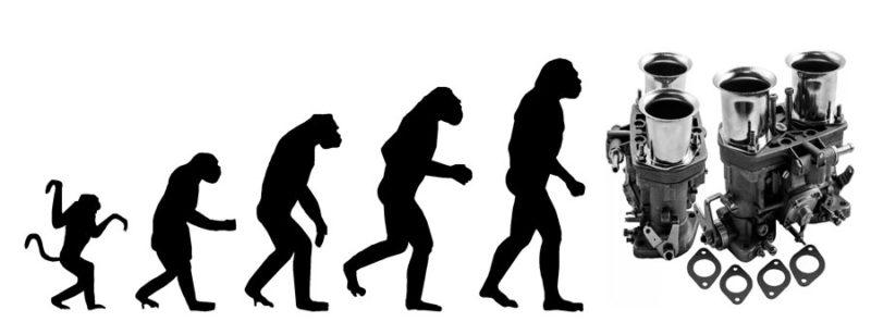 Эволюция карбюраторов